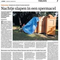 Het Parool, August 15th 2013