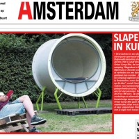 De Telegraaf, August 16th 2013ampsite Amsterdam - 2